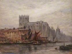 Thames-side Scene