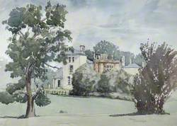 Haydon Hill House from Attenborough's Fields