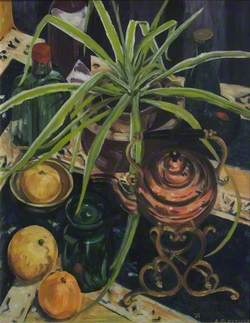 Still Life with Plant