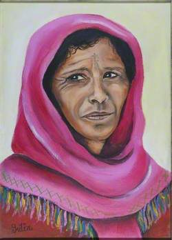 Portrait of Female Berber – Morocco