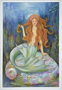 Mermaid on an Abalone Shell