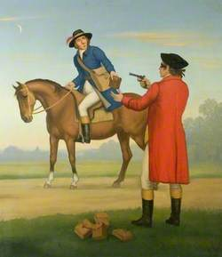 James Snook, Holding up the Post Boy John Stevens on 10 May 1801