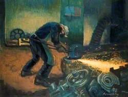 Swing Wheel Grinder, Kryn and Lahy Steel Founders and Engineers Ltd, Letchworth