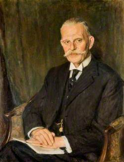 Sir David Rutherford, Kt, DL, Chairman of the County Council (1939–1945)