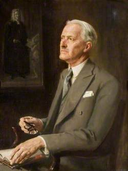Sir Harold Williams, FBA, Chairman of the County Council (1947–1952)