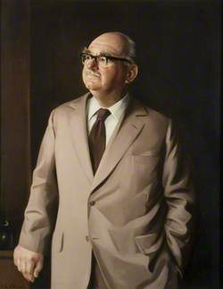 Mayor A. J. Hughes, MC, TD, DL, Chairman of the County Council (1973–1974 & 1977–1980)