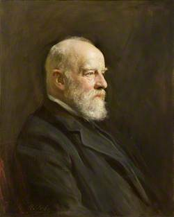 The Right Honourable T. F. Halsey (1839–1927), Chairman of Quarter Sessions and County Council (1919)