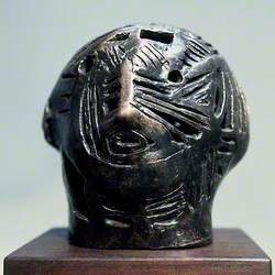 Maquette for Strapwork Head