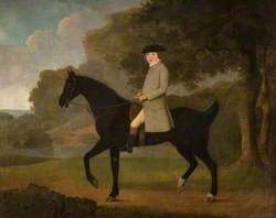 Benjamin Rooke, Mayor of Hertford (1797) on Horseback in a Wooded Landscape