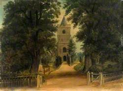 View of Great Amwell Church
