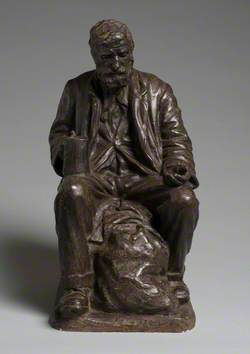 Seated Figure of George 'Dummy' Barnes