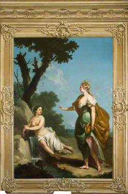 Arethusa Tells Ceres of Proserpine's Fate