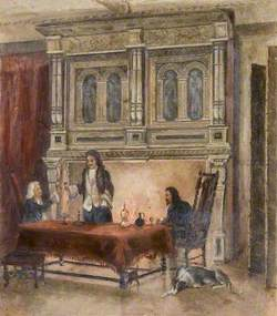 Interior of Thurnall's Sitting Room