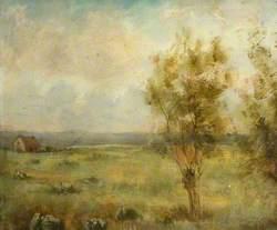 Landscape from the Area of Pont-de-Vaux
