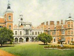 Front View of Hatfield House