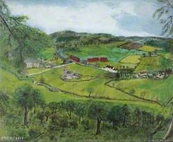 Morville, Shropshire, from the Hill