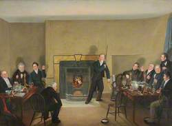 The Smoke Room, Dudley Arms Hotel, 1825