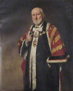 Alderman G. H. Dunn (1837–1908), Mayor of Dudley (1897–1898)