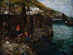 A Nibble (The Little Fishermen)