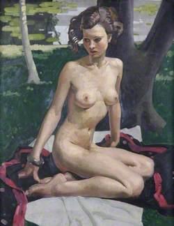 Seated Nude (Summer)