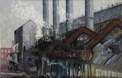 Round Oak Steelworks, Brierley Hill