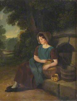 A Girl with a Pitcher