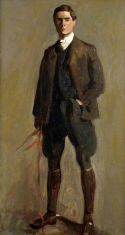 Self Portrait, in Hunting Kit