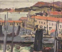 Harbour Toulon: Sketch