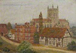Guesten Hall, Malvern Priory, Abbey House and Priory Gatehouse, Great Malvern, Worcestershire
