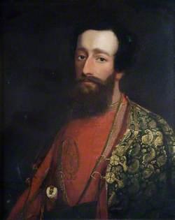 Sir Herbert Benjamin Edwardes (1819–1868), in Afghan Dress