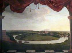 Panoramic View of Shrewsbury (North Eastern Prospect), Shropshire