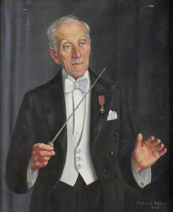 Frederick C. Morris, Conductor of the Shrewsbury Orchestral Society