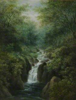 Waterfall, near Ludlow, Shropshire
