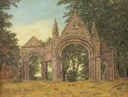Parish Church Arches, Shobdon, Herefordshire