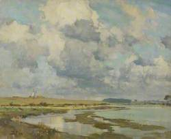 Clouds over the Orwell
