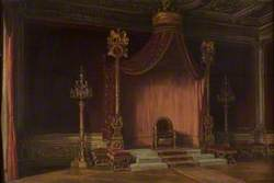 The Throne of Napoleon, Palace of Fontainebleau