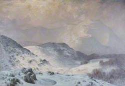 Winter at Malvern, Worcestershire