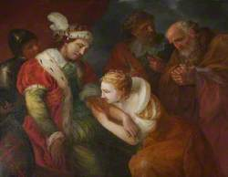 Queen Eleanor Sucking the Poison from the Arm of Edward I