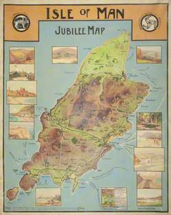 Jubilee Map of the Isle of Man