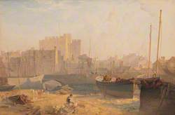 Castletown Harbour and Castle Rushen