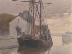 Schooner, Castletown Harbour