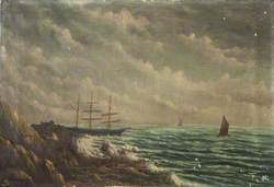 Wreck of the 'Thorn', Onchan Head