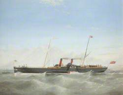 Paddle Steamer 'Snaefell'