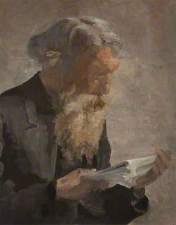 Portrait of the Artist's Father, William Knox
