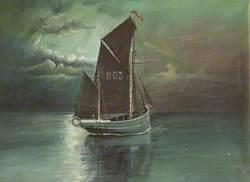 A Manx Fishing Boat
