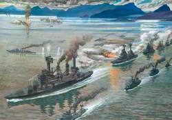 The Battle of the Leyte Gulf