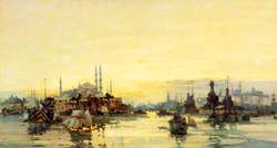 The Allied Fleet and Shipping at Constantinople