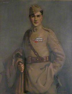 Captain Albert Ball (1896–1917), VC, DSO, MC, Nottinghamshire and Derby Regiment and Royal Flying Corps