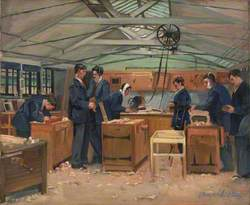 The Queen's Hospital for Facial Injuries, Frognal, Sidcup: The Carpenters' Shop