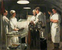 The Operating Theatre, First Casualty Clearing Station